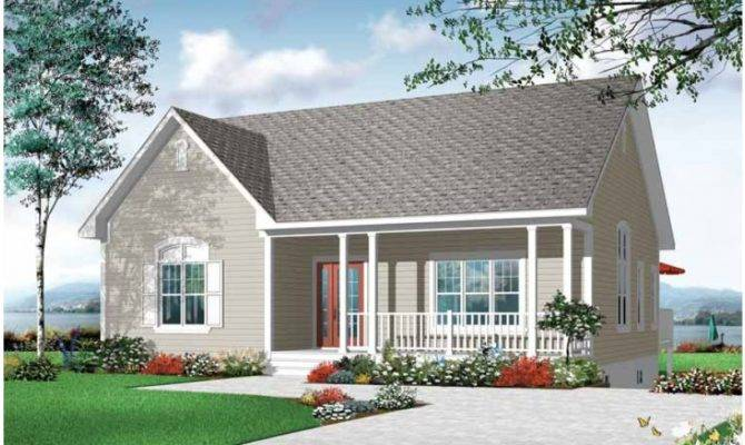 Eplans Country House Plan Easy Living Home Square