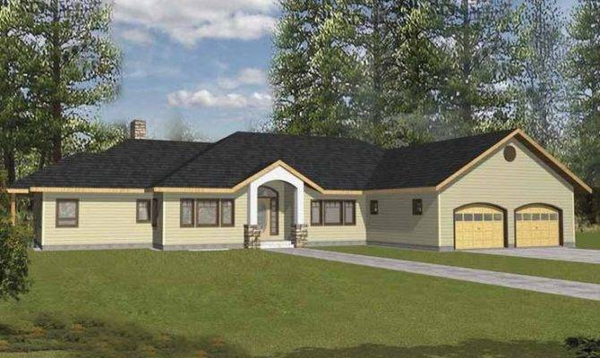 Eplans Country House Plan Three Bedroom Square Feet