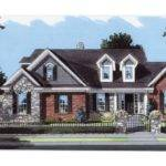 Eplans Country House Plan Traditional Brick Stone Square