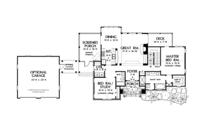 Eplans Craftsman House Plan Charmer Detached Garage