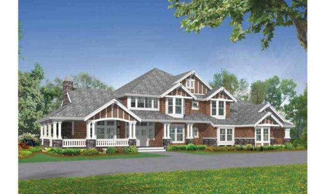 Eplans Craftsman House Plan Luxury Master Suite Sitting Room