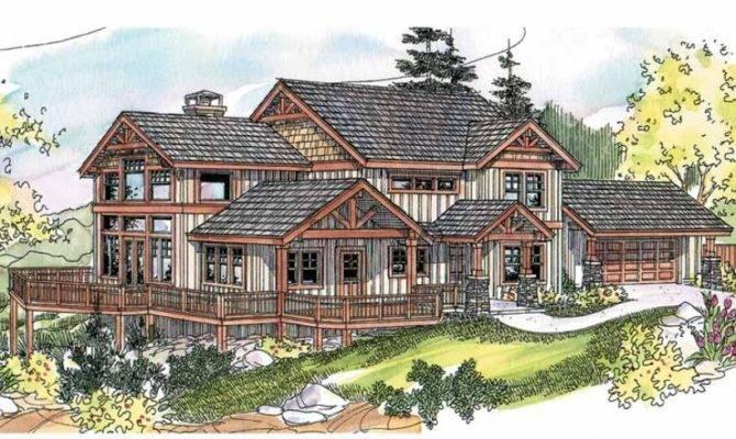 Eplans Craftsman House Plan Wrap Around Porch