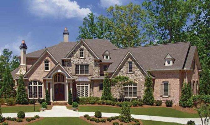 Eplans European House Plan Bowed Wall Windows Allows Natural