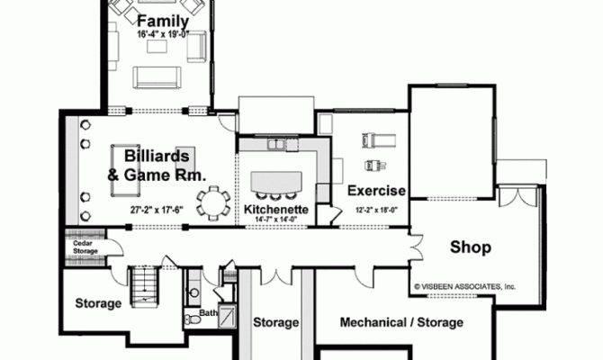 Eplans European House Plan Six Bedroom