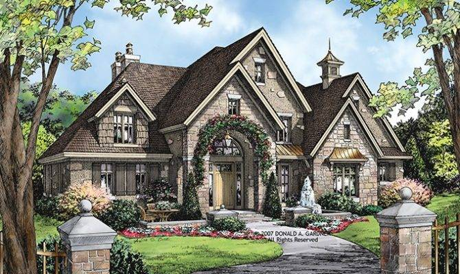Eplans European House Plan Square Feet Bedrooms