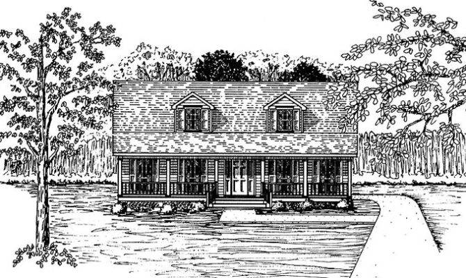 Eplans Farmhouse House Plan Old Fashioned Style Square Feet