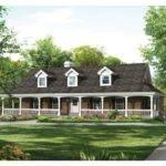 Eplans Farmhouse House Plan Unique Drive Thru Basement Garage