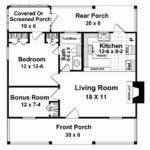 Eplans Farmhouse House Plan Weekend Get Way Square Feet