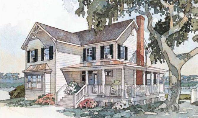 Eplans Farmhouse House Plan Windsong Cottage Southern