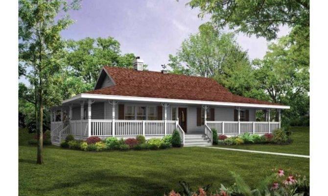 Eplans Farmhouse House Plan Wraparound Porch Capture Beautiful
