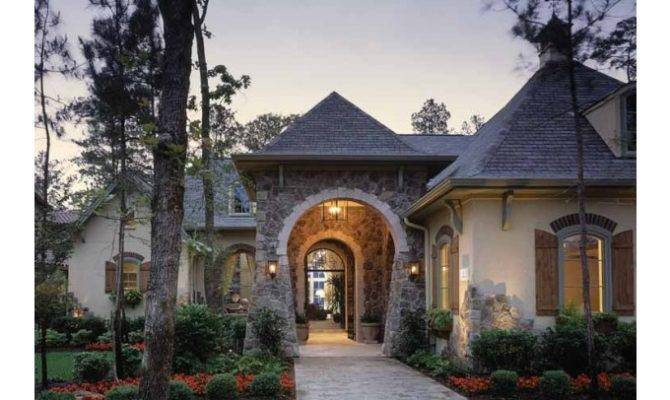 Eplans French Country House Plan Elegant Effortlessly Fun