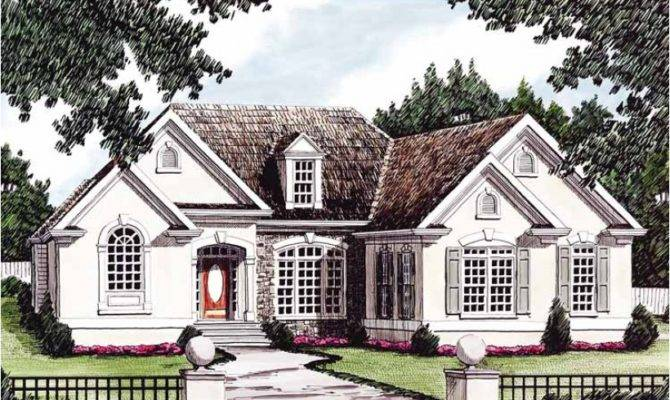 Eplans French Country House Plan European Heritage
