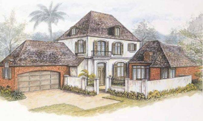 Eplans French Country House Plan New Orleans Quarter