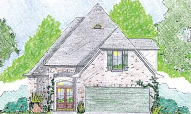 Eplans French Country House Plan Steep Pitched Roof Square