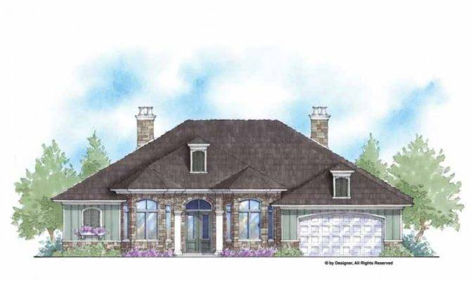 Eplans French Country House Plan Zero Energy Home