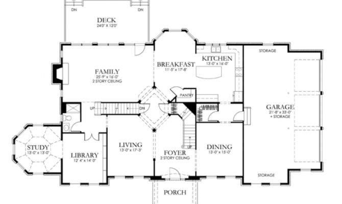 Eplans Georgian House Plan Classic Elegance Square Feet
