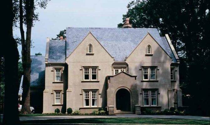 Eplans Gothic Revival House Plan Attractive Design Square