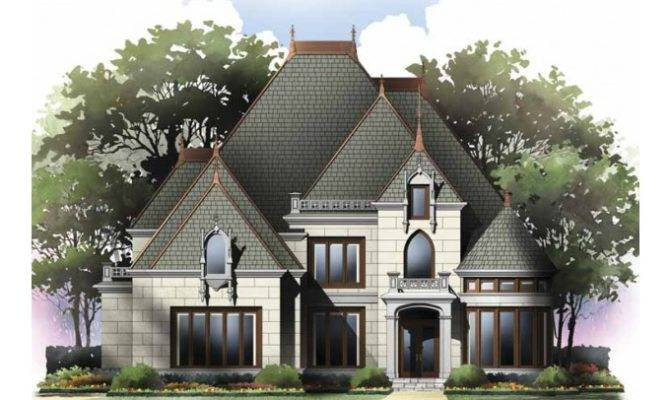 Eplans Gothic Revival House Plan Four Bedroom