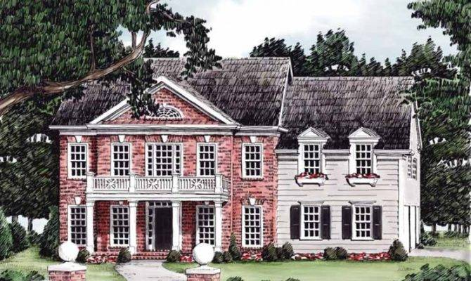 Eplans Greek Revival House Plan Style Square