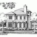 Eplans Italianate House Plan Mediterranean Elements Square