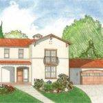 Eplans Italianate House Plan Three Bedroom Naples Style Villa