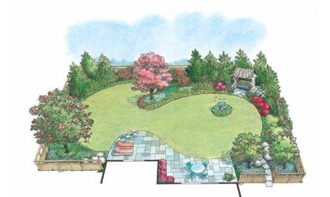 Eplans Landscape Plan Hummingbird Garden