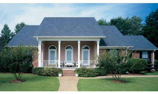Eplans Low Country House Plan Ranch Enhanced Graceful Southern
