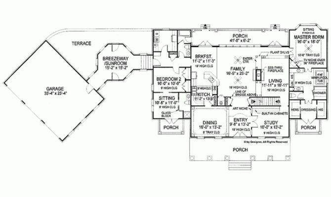 Eplans Neoclassical House Plan Stately Georgian Home Square
