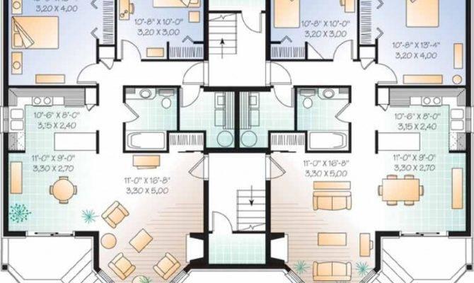 Eplans New American House Plan Elegant Apartment Building