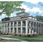 Eplans Plantation House Plan Five Bedroom Square