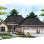 Eplans Ranch House Plan European Flair