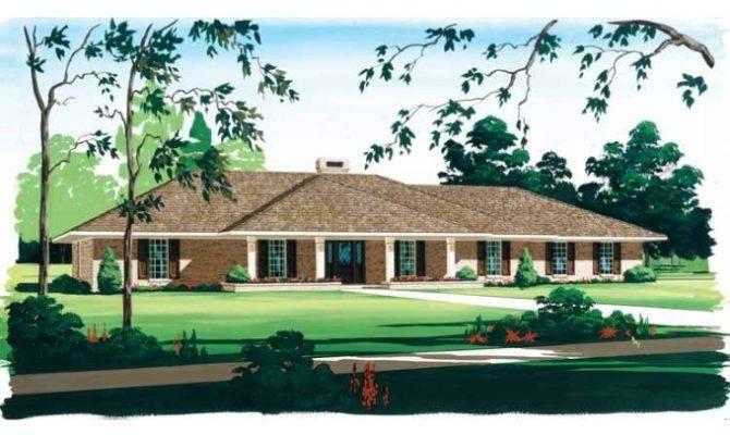 Eplans Ranch House Plan Rambling Home Square Feet