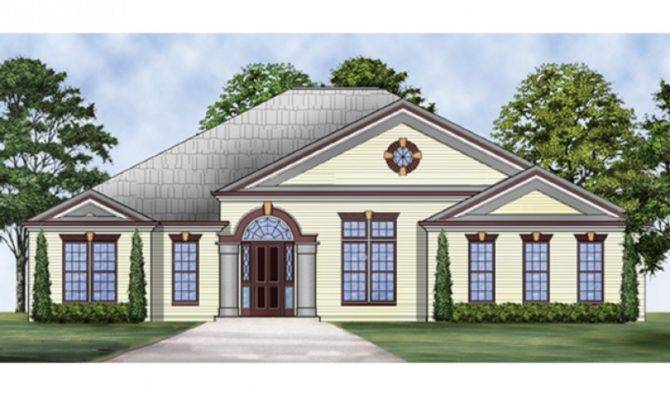 Eplans Ranch House Plan Small Elegance Including Theater