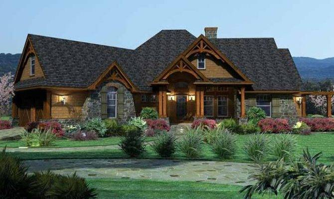 Eplans Ranch House Plan Tavern Like Features