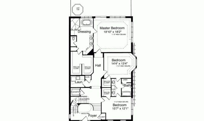 Eplans Second Empire House Plan Three Decks Square