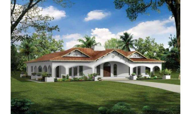 Eplans Spanish Revival House Plan Elegant Awakening Square
