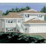 Eplans Split Level House Plan Great Medium Narrow Lots