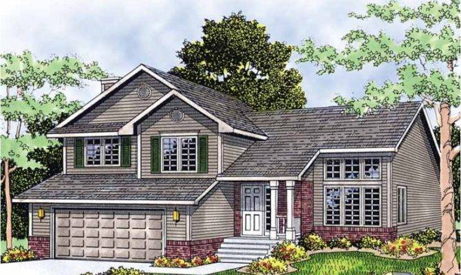 Eplans Split Level House Plan Multi Home Square Feet