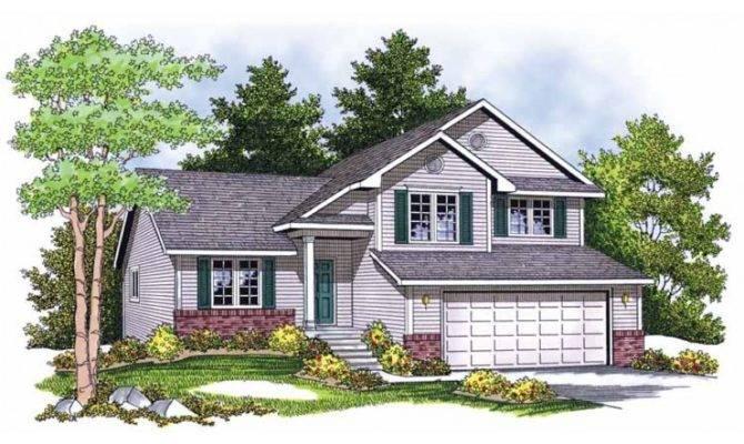Eplans Split Level House Plan Perfect Hillside Lot