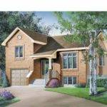 Eplans Split Level House Plan Three Bedroom