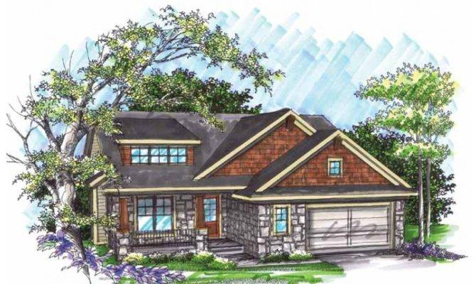 Eplans Split Level House Plan Two Bedroom Ranch Home Square