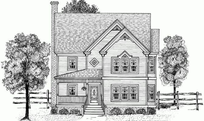 Eplans Victorian House Plan Three Bedroom Eclectic