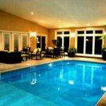 Estate House Plans Indoor Pool Design