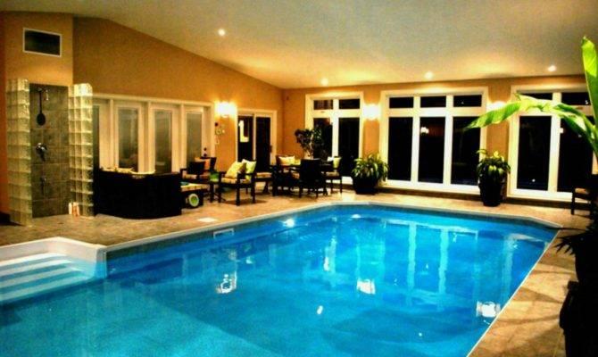 Estate House Plans Indoor Pool Design