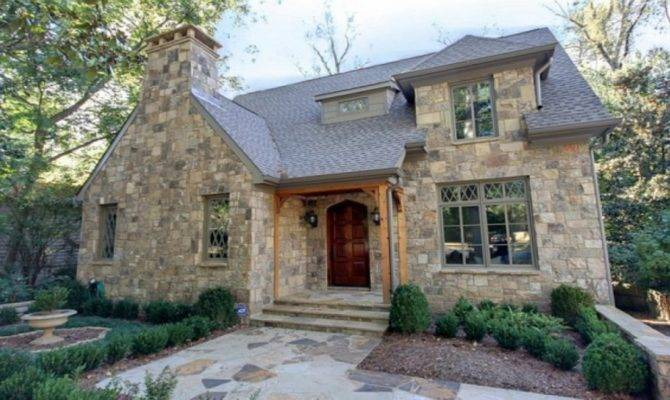 European Cottage Style House Plans Stone