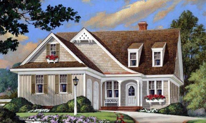 European Country Cottage House Plans