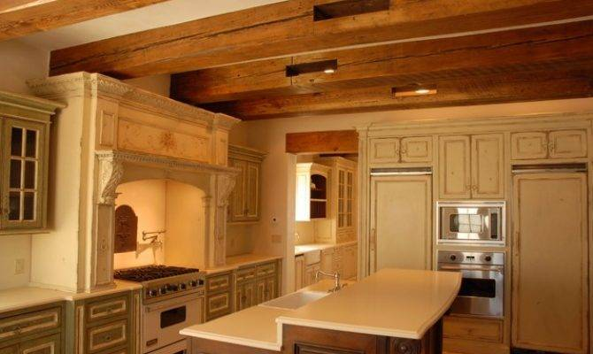 European Country Style Kitchen Butler Pantry