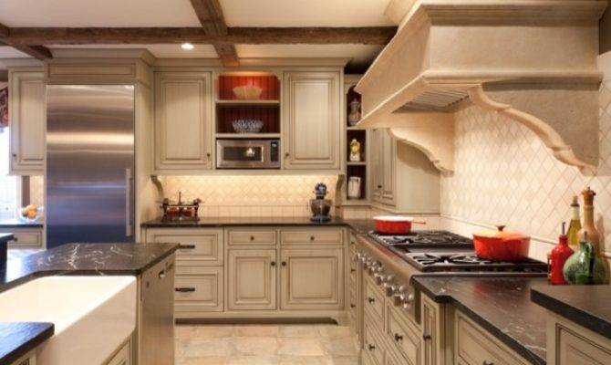 European Country Traditional Kitchen Philadelphia