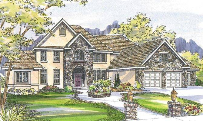 European House Plans Avalon Associated Designs