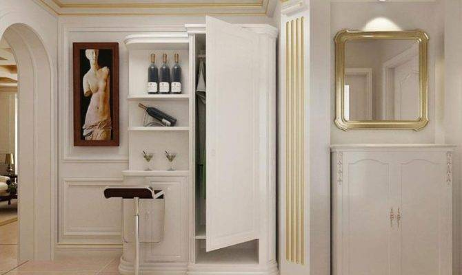 European Indoor Closet Rendering Interior Design
